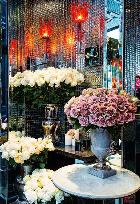 Flower boutique Roses Costes Dani Roses, Paris