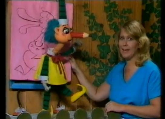 Mr squiggle  It's upside down miss Jane
