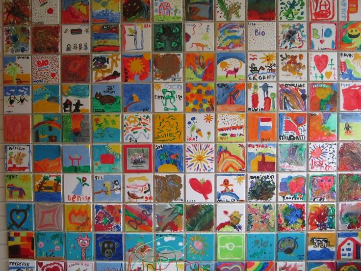 Wall of Fame, kunst van onze gasten!