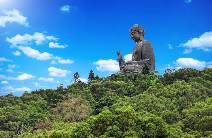 Giant Buddha/Po Lin Monastery in Hong Kong, Lantau Island - good day trips from Lantau