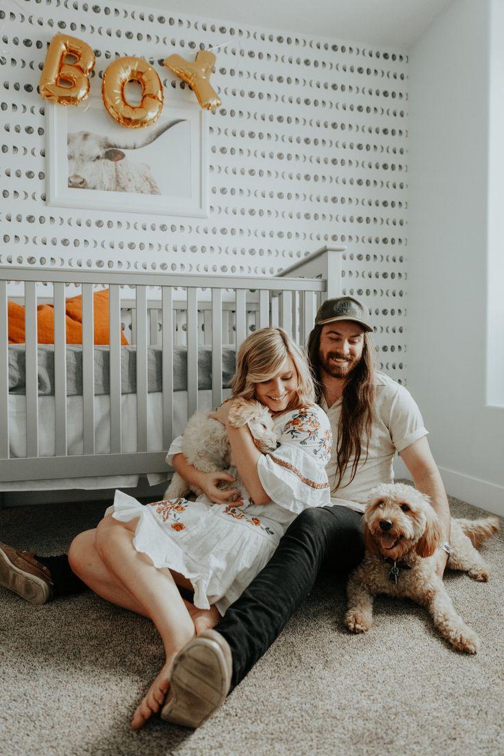 Boy Nursery, modern western, Announcement Photography, Personal Post | We're having a Baby! — Chantel Lauren