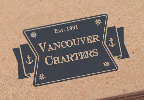 Vancouver Charters brand identity http://www.yassinward.com