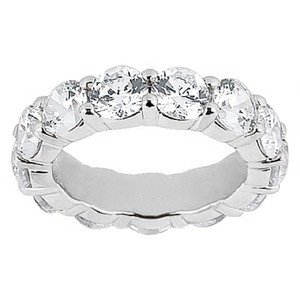 Platinum Diamond Eternity Ring (4 ct.tw.)