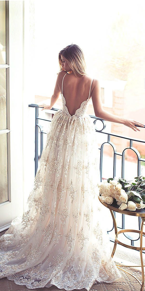 24 Totally Unique Fashion Forward Wedding Dresses ❤ See more:  #wedding #dresses: