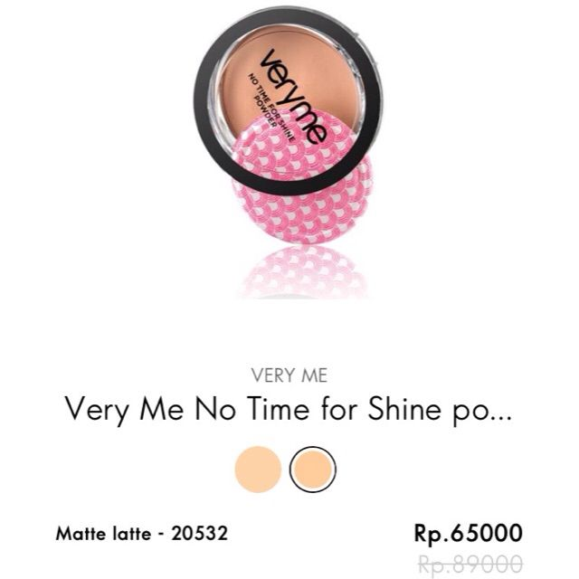 Temukan dan dapatkan Very Me - Powder hanya Rp 65.000 di Shopee sekarang juga! http://shopee.co.id/claudyafm/88104582 #ShopeeID #kosmetik #makeup #powder    Line: Claudia.oriflame BBM: 597B4C7E WA: 081210851786