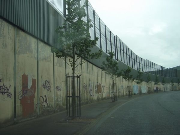 Belfast Peace-Keeping Wall