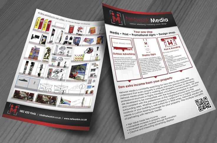 Network Media Flyer Design