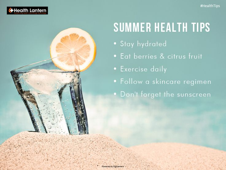 Don't let the summer heat make you feel weak. Go strong, it's only Monday! . . . #beattheheat #summerhealth #healthtips #healthcaresolutions