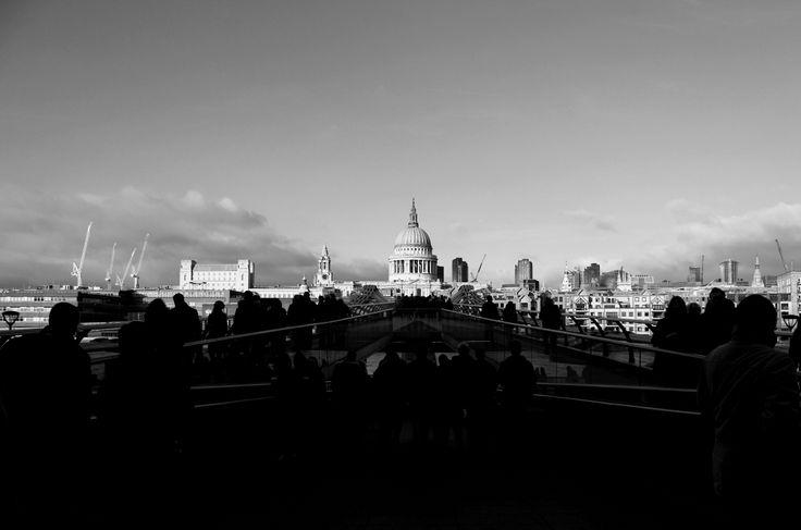 St Pauls from Millennium Bridge