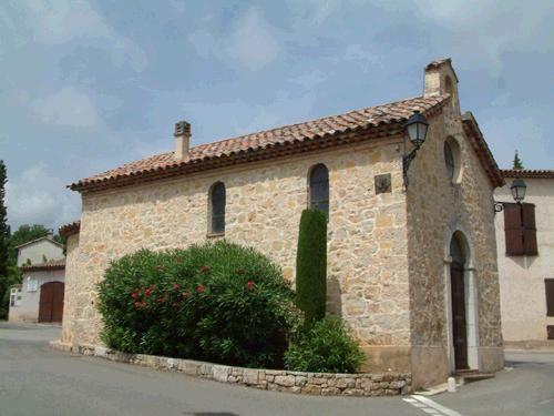 chapelle Saint-Joseph ou des Penintens blancs. Le Rouret.  Alpes-Maritimes
