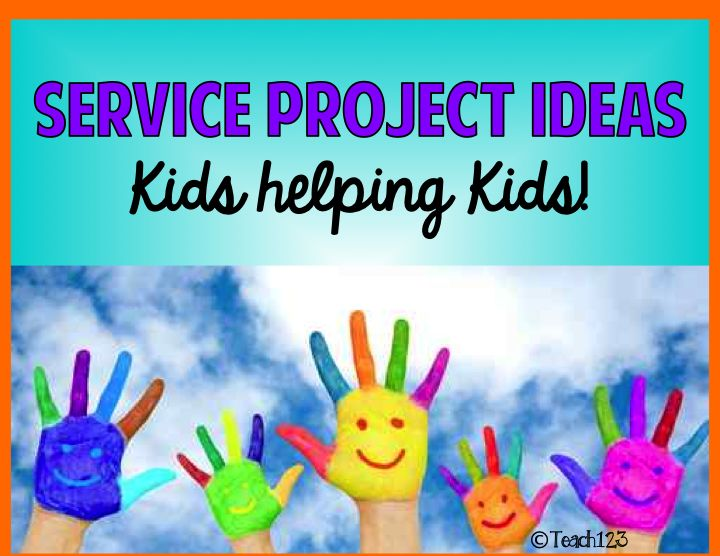 Service Projects at School - This time of year is the perfect time to do a service project with your class.  Looking for ideas?  Read this post!
