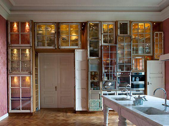 kitchen design by Piet Hein Eek