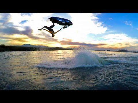 Видео: Эли Кемниц и его водный мотоцикл бросили вызов гравитации. — Vinegret