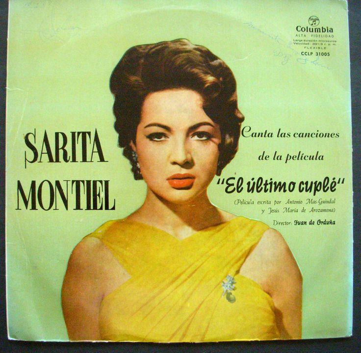 SARA MONTIEL Canta las canciones de la pelicula EL ULTIMO CUPLE Spain Press