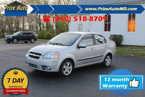 2010 Chevrolet Aveo Lt Sedan For Sale In Waldorf Md Truecar