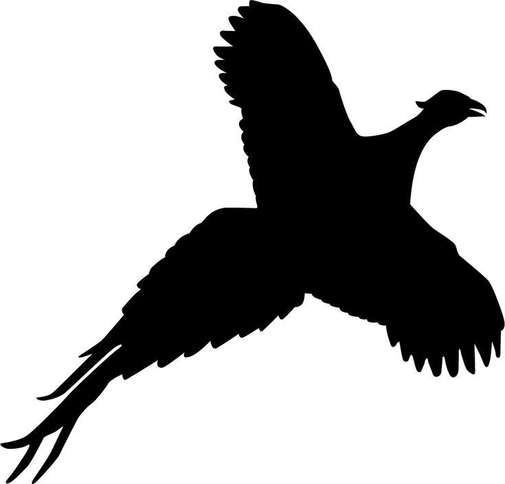 pheasant silhouette - Google-haku | fa sa ani | Pinterest ...