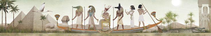 Iban Barrenetxea nos sumerge en el Egipto de los faraones y la Edad Media con los puzzles, caleidoscopios y pegatinas de Londji.