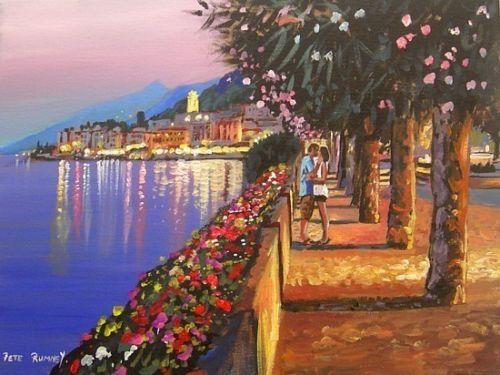 Pete Rumney Fine Art Buy Original Oil Acrylic Painting