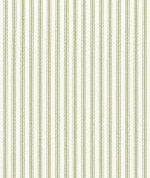 Another possible stripe option? Shop Waverly Classic Ticking Sage Fabric at onlinefabricstore.net for $17.3/ Yard. Best Price & Service.
