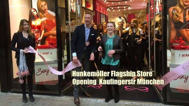 Opening Hunkemöller Flagship Store München @ Kaufingerstraße 16