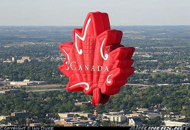 Fantastic ~ Canadian Maple Leaf On High