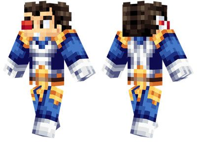 Vegeta skin for Minecraft PE - http://minecraftpedownload.com/vegeta/