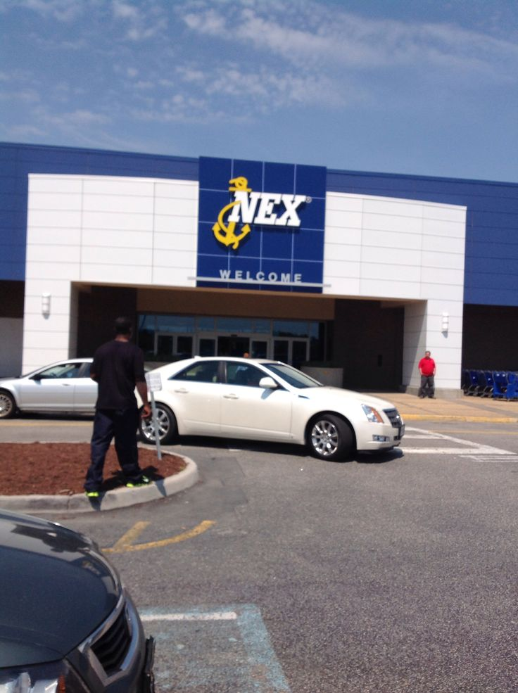 Shopped at Nex (Navy Exchange Store) in Norfolk, Virginia.