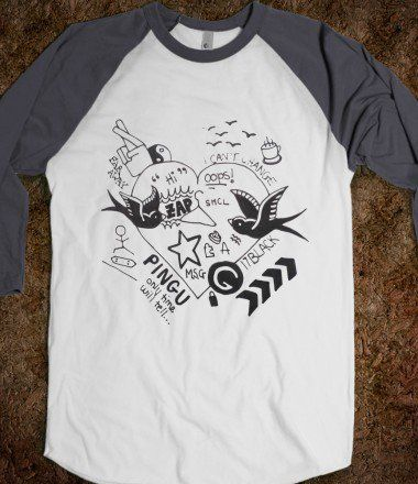 1D Tattoos - One Direction Inspired - Skreened T-shirts, Organic Shirts, Hoodies, Kids Tees, Baby One-Pieces and Tote Bags , can buy online