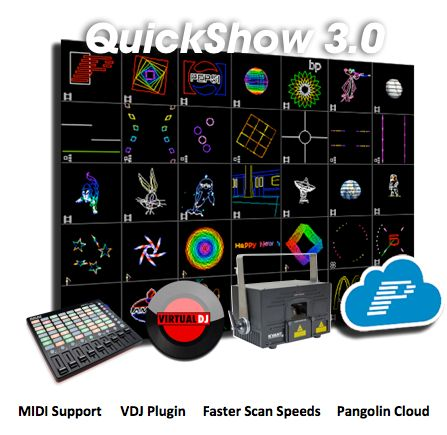 QuickShow 3.0 - The World's Easiest Laser Show Software - http://pangolin.com/quickshow-3-0-worlds-easiest-laser-show-software/