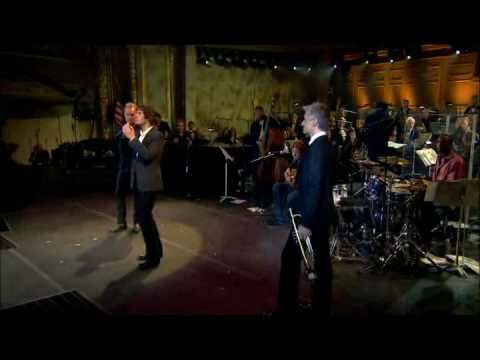 Sting, Josh Groban, and Chris Botti,   with the Boston Pops Orchestra --  a musical tour-de-force!
