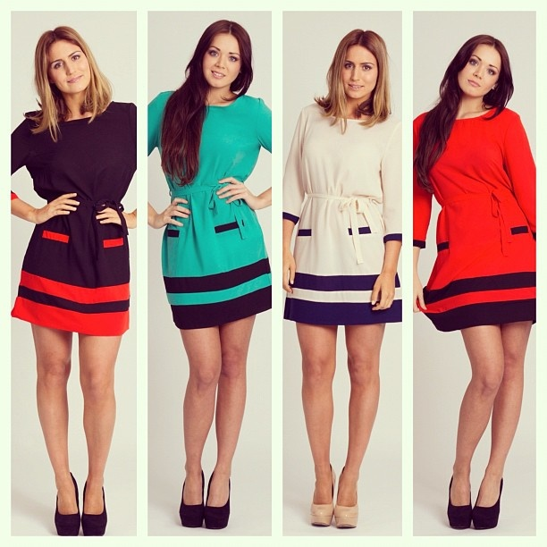 The 'Selma' Striped Shift Dress, what's your favourite colour...?