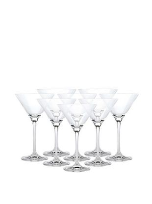 63% OFF BergHOFF Set of 8 Bistro Martini Glasses, 7-Oz.