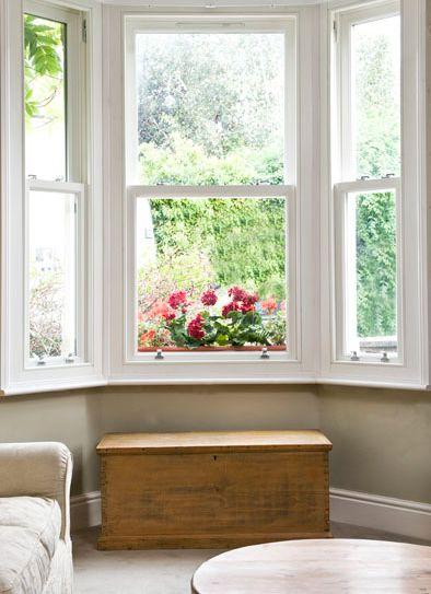 UPVC sash window.