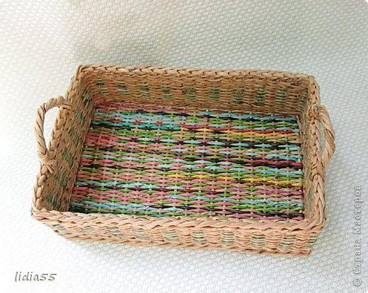 Здравствуйте дорогие мастера и мастерицы!!!покажу сегодня парочку плетеных коробочек с плетеным дном.. фото 1