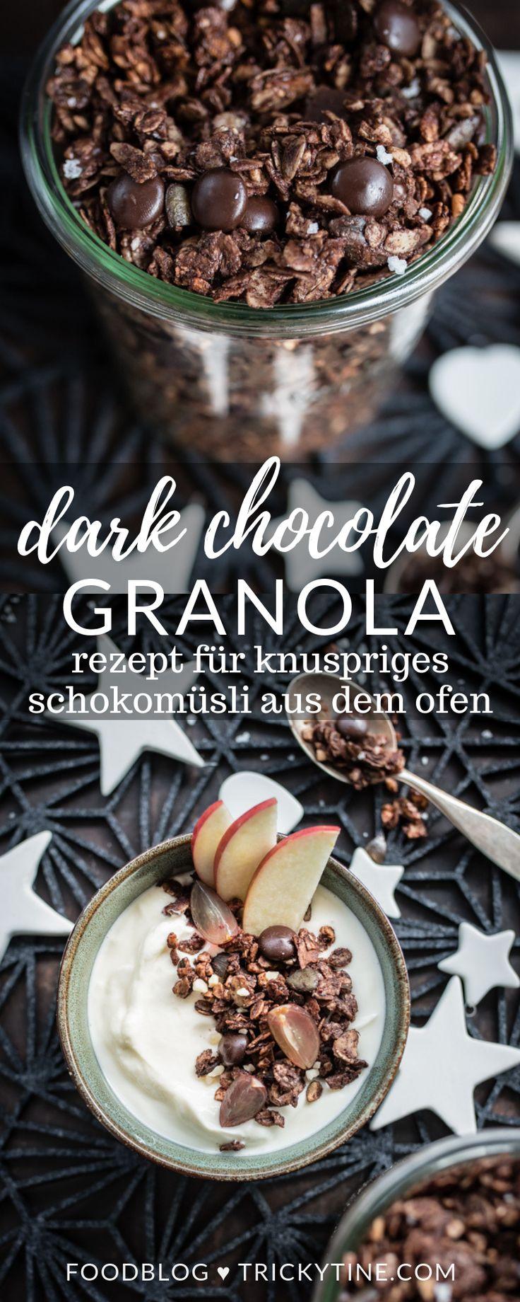 Rezept für Schokomüsli aus dem Ofen – leckeres Chocolate Granola