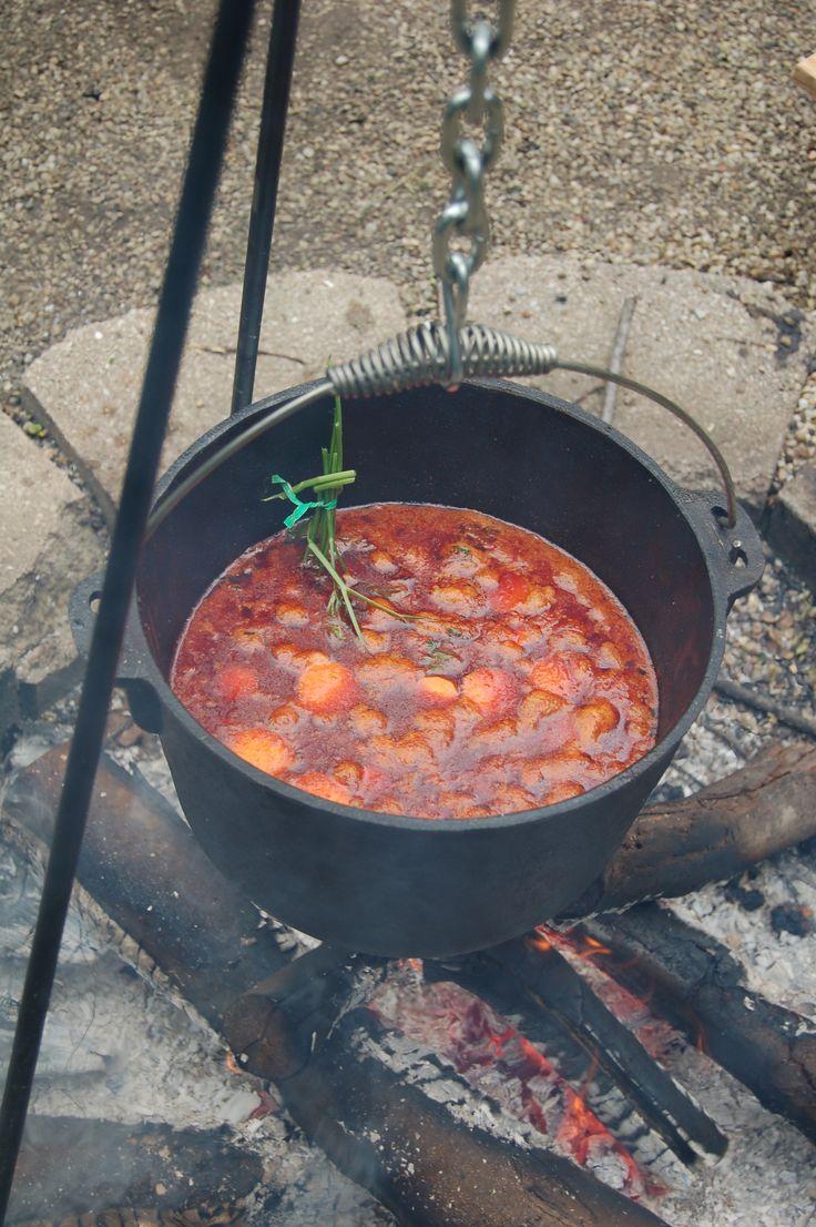 Gulyas Leves (Goulash Soup) »• Karney Family Recipes