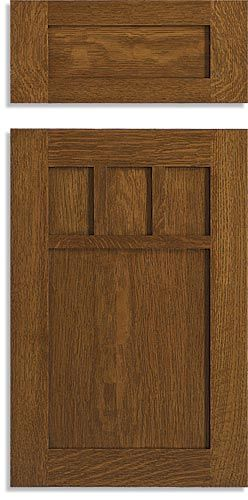 Mission Style Cabinet Doors | Custom Mission Doors | Keystone Wood Specialties
