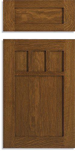 Mission Style Cabinet Doors   Custom Mission Doors   Keystone Wood  Specialties. Craftsman KitchenCraftsman ...