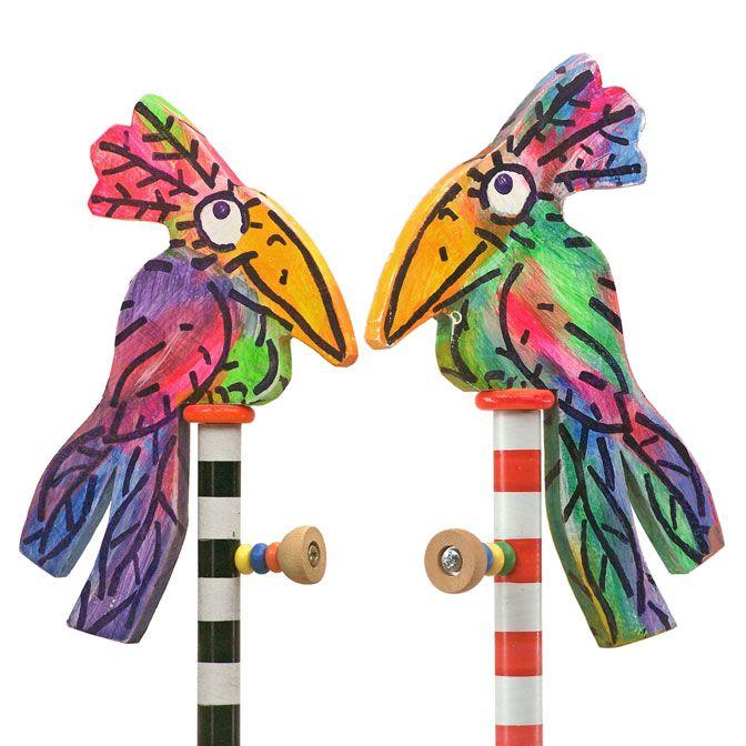 kuşlu portmanto