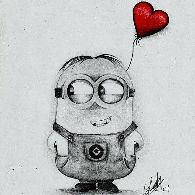 Dibujo minion  Dibujos P  Pinterest