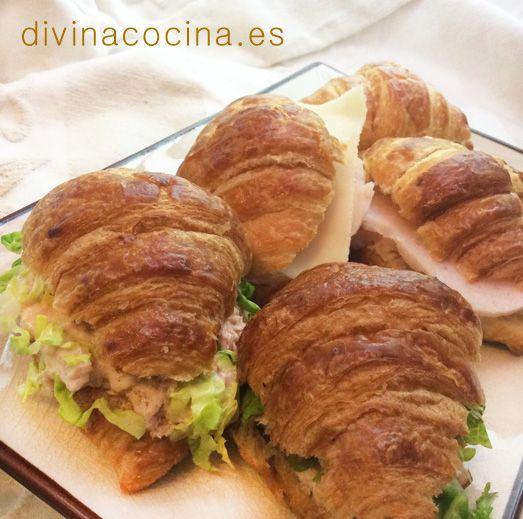 Rellenos para medias noches y croissants - Divina Cocina