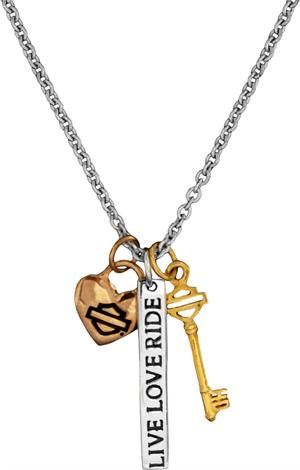 Harley-Davidson® MOD® Women's Kindred Souls Charm Necklace HDN0268