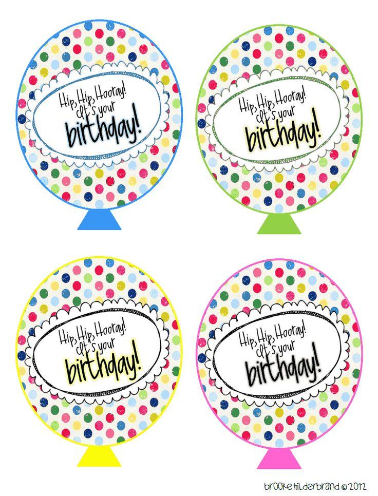 Printable Birthday Balloons ~ Birthday balloons pdf school stuff pinterest birthdays and google drive