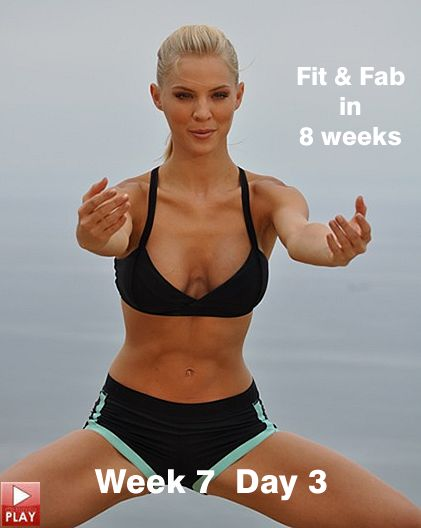 8 week fitness program for beginners.Over 40 hours of free exercises to get you in the best shape of your life.