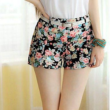 Mini Plancha corta chicas Pantalones cortos de mujer – USD $ 6.49