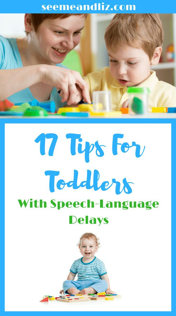 17 tips & ideas for parents to help strengthen their toddler's language development #speechtherapy #kidsactivities #parentingtips