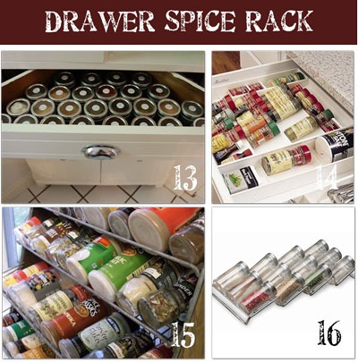 16 DIY Spice Rack Designs, A Bunch Of Amazing Thrifty Ideas