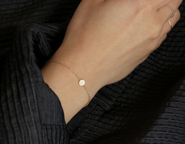 Initial Bracelet – Vrai & Oro