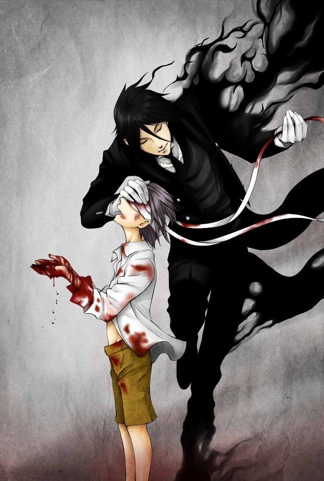 ciel x sebastian, from kuroshitsuji/black butler #anime