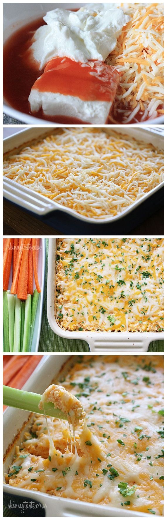 Hot and Spicy Buffalo Shrimp Dip | appetizers | Pinterest